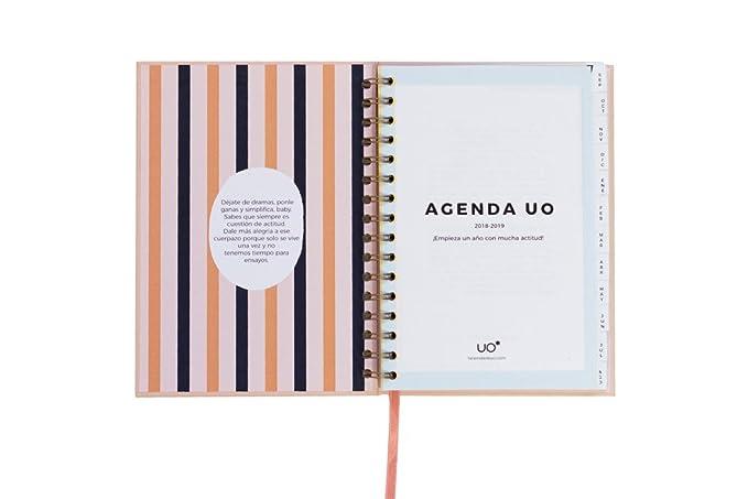 Amazon.com: UO ag189mdmg1 - Agenda 2018-2019 Semana vista ...