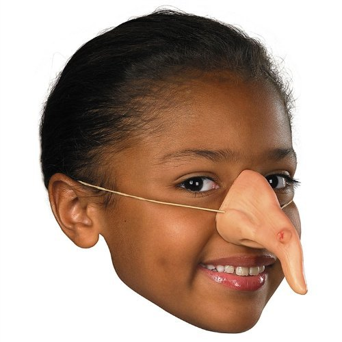 [Witch Costume Nose, One Size] (Witch Nose)