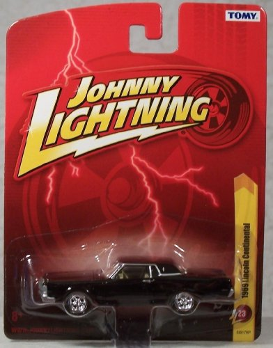 Johnny Lightning 1969 Lincoln Continental Black #23 1:64 Scale Diecast (Johnny Lightning Collector)