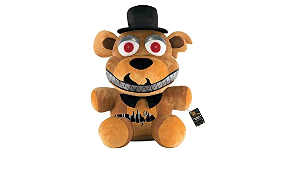 Funko Peluche Oso Freddy, 70 cm. Five Nights at FreddyS. Versión Nightmare: Amazon.es: Hogar