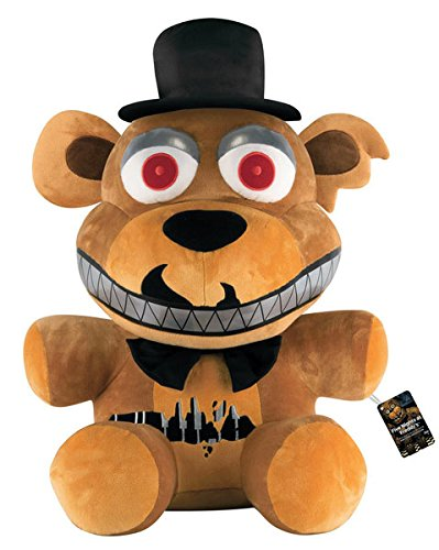 Funko Peluche Oso Freddy, 70 cm. Five Nights at FreddyS. Versión Nightmare