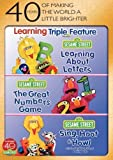 Sesame Street: Learning Triple Feature (Learning About Letters / The Great Numbers Game / Sing, Hoot & Howl) by Sesame…