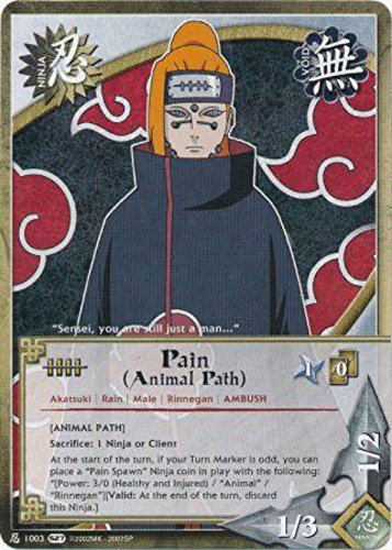 Naruto Card - Pain (Animal Path) [Animal Path] 1003 - Starter Set - Common