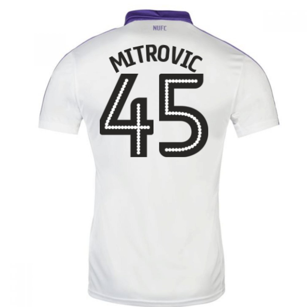 2016-17 Newcastle Third Football Soccer T-Shirt Trikot (Aleksandar Mitrovic 45)
