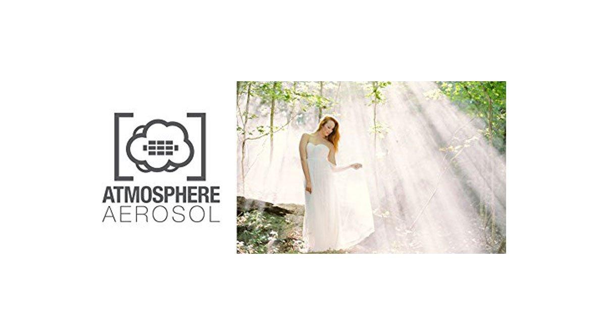 Atmosphere Aerosol 5X 8oz Haze/Fog Spray for Photographers and Filmmakers with Microfiber Cloth