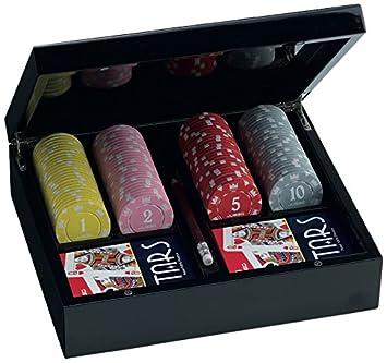 Juego JU00066 - Set de Poker Lancelot con 100 fichas ...
