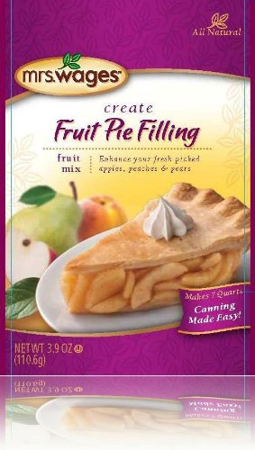 Mrs. Wages Fruit Pie Filling Mix - 6 (SIX) - 3.9 oz packets