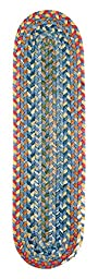 Rhody Rug Country Jewel Sapphire S/T\'s Set-of-13