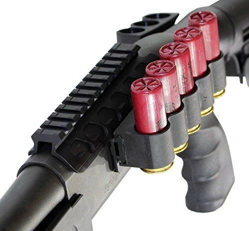 Remington 870 1100 1187 Sidesaddle Shell Holder with Mount