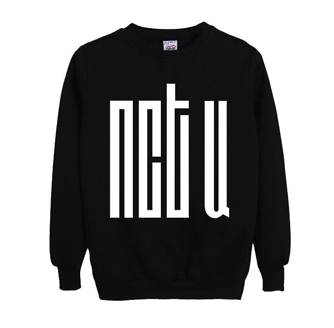 99352d820db NCT U Sweatshirt All Members Mark TaeYong Taeil Ten Pullover Sweater XS  Black