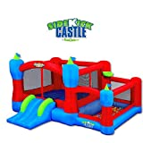 Blast Zone Sidekick Bounce House, Ball Pit, Slide and Hoop For Sale