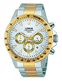 Lorus Two-Tone Stainless Steel Chronograph Watch
