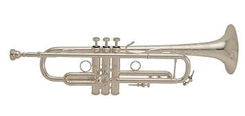 Vincent Bach Stradivarius Professional Trumpet Model LR19S43B - Silver Plated Finish