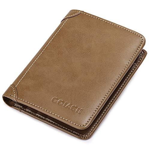 Cuir Multifonctionnelle Portefeuille En Conduire Homme Khaki Pour Porte portefeuille De permis carte Lmshm monnaie Véritable qWnp0xAC