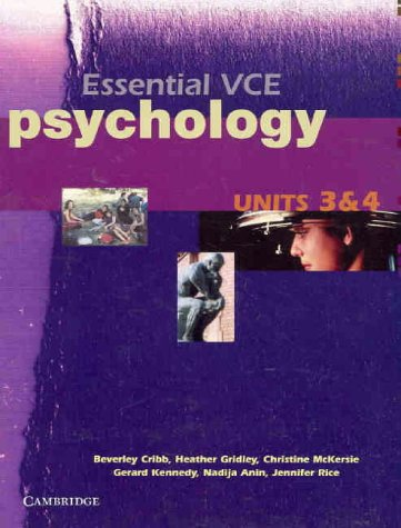 Essential VCE Psychology Units 3 and 4