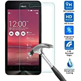 M.G.R ( Asus Zenfone 5 ) Tempered Glass Screen Protector , 9H Hardness, 0.3Mm