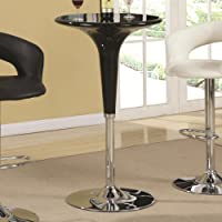 Coaster Home Furnishings 120325 Contemporary Bar Table, Black