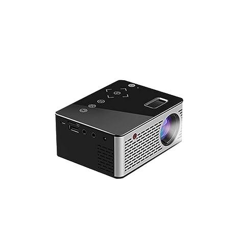 Pocket Mini Led LCD Proyector Botones táctiles Cine en casa Cine ...