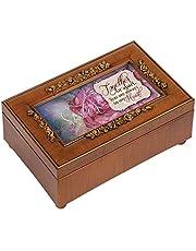 Woodgrain Petite Rose Sister Music Box - Perfect Sister Gift …