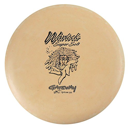 Gateway Disc Sports Sure Grip S Super Soft Warlock Putter Golf Disc [Colors May Vary] - 170-172g (Disc Soft Gateway Wizard Super)