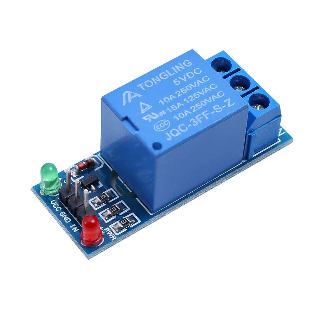 Bomcomi Profundidad de Color 1//2//4//8//16 5V Placa de rel/és de Canal M/ódulo acoplador /óptico LED de sustituci/ón para los PIC de Arduino AVR Arm