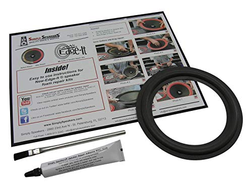 Speaker Foam Repair Kit for Klipsch Pro Media Subwoofer 6.5 Inch FSK-6.5-1 (Single) (Patio Perfect Covers Vegas Las)