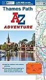 Thames Path Adventure Atlas (A-Z Adventure Atlas)
