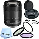 Canon EF-S 18-135mm f/3.5-5.6 Lens Bundle (White Box)