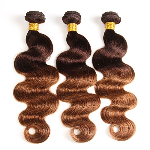 2-Tone-Ombre-Hair-Brazilian-Virgin-Hair-Body-Wave-3-Bundles-Hair-Weaves-Human-Hair-Extensions-T430-Medium-BrownMedium-Auburn10-12-14