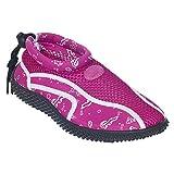 Trespass Childrens Girls Squidette Aqua Shoes (1 Youth US) (Fuchsia Print)
