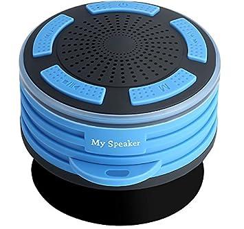2018 Nouvelle Fête Des Mères LED Lumières Bluetooth 4.0 Haut Parleur, IPX7  étanche Haut