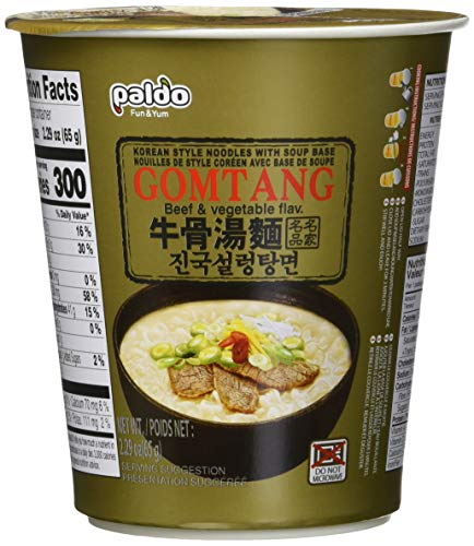 - Paldo Gomtang Noodles, 2.29-ounce Packages (Pack of 6)