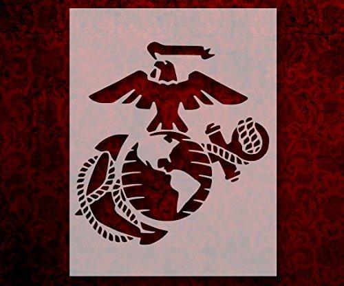 Marine Corps USMC Eagle Anchor Globe Marines 8.5