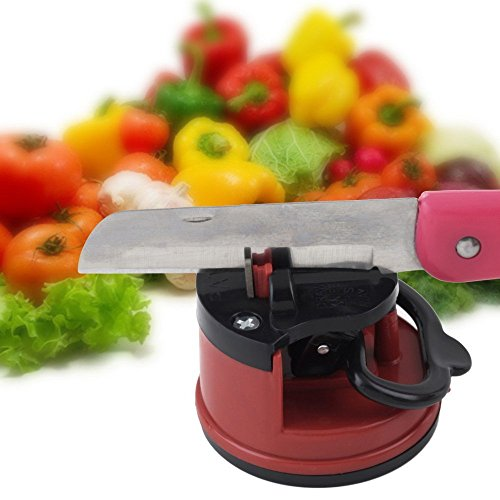 Ayutthaya Shop 1Pc Professional Chef Pad Kitchen Sharpening Tool Knife Sharpener Scissors Grinder Secure Suction sharpener for knives