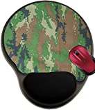 aroma 996 - Liili Mousepad wrist protected Mouse Pads/Mat with wrist support design IMAGE ID: 19281972 Military texture camouflage background