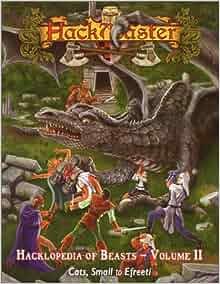 Hackmaster: The Hacklopedia of Beasts Vol 2: The Hackmaster