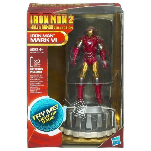 [Iron Man 2 Hall of Armor Collection Figure Iron Man Mark VI] (Iron Man Armor Suits)
