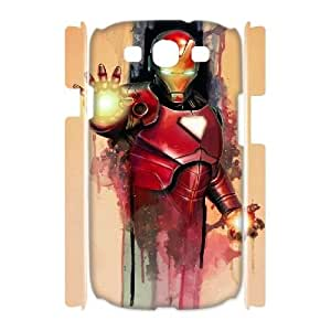 LTTcase Custom Iron Man 3D Back Cover for samsung galaxy s3 i9300