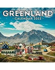 Greenland Calendar 2022: 16-Month Calendar, Cute Gift Idea For Greenland Lovers Women & Men