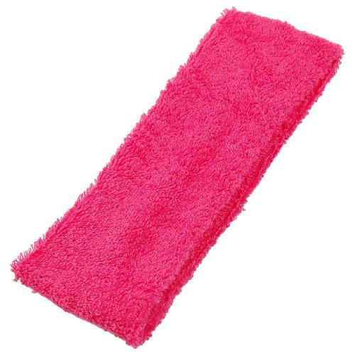 uxcell Washing Elastic Headband Magenta