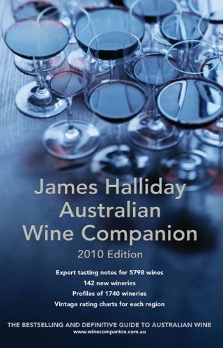 James Halliday Australian Wine Companion: 2010 Edition by James Halliday
