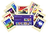 Gift Set of 2015 Christmas Stamps in Presentation Pack and PHQ Cards (Set of 9 Royal Mail Postcards)