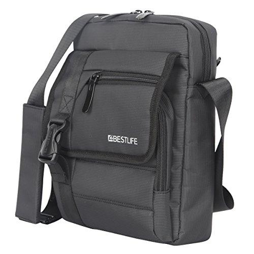 bestlife pequeño negocio Crossbody Messenger Bag hombres multifunción Nylon Cruz Cuerpo Bolsa de hombro Mini