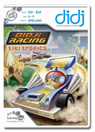 (LeapFrog Didj Custom Learning Game Didj Racing Tiki Tropics)