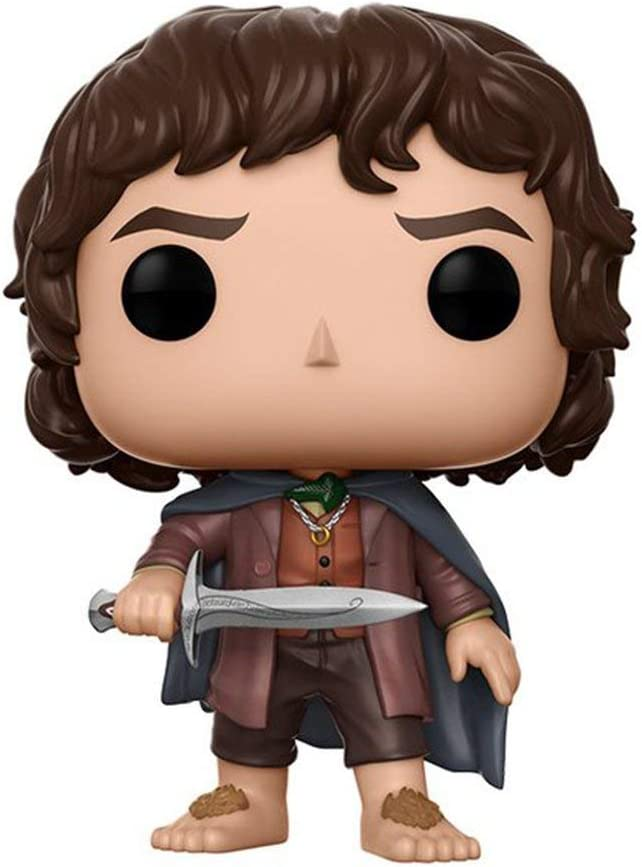 Funko POP Movies Lord of the Rings Frodo Baggins 3.75 CHASE VARIANT Vinyl Figure