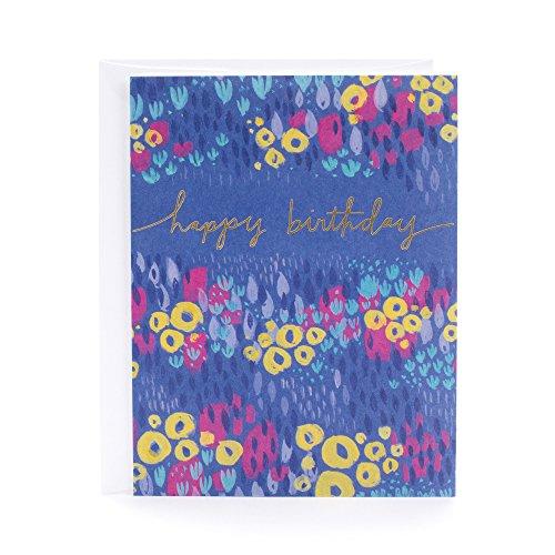 Hallmark Birthday Card (Floral Design) ()