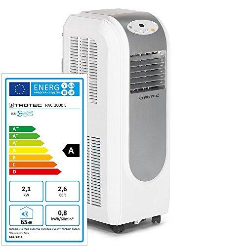 TROTEC Lokales Klimagerät PAC 2000 E mit 2,1 kW (7.200 Btu)