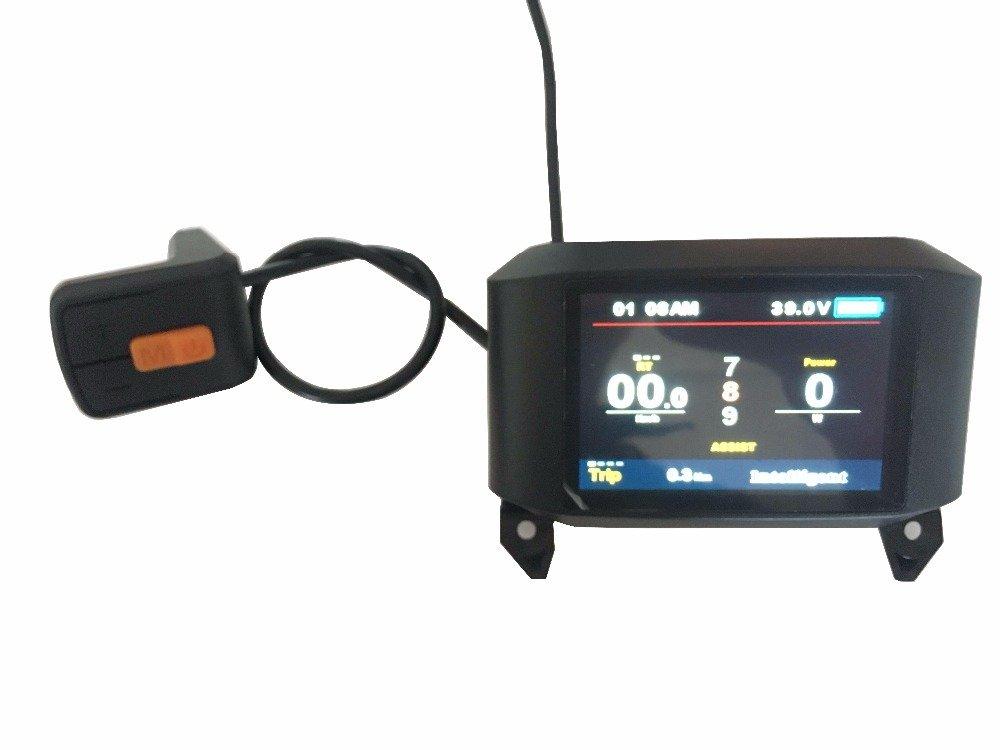 Ebike Full Farbe 24V 36V 48V LCD TFT-750C Display Available For Electric bike BAFANG Mid Drive Motor BBS01 BBS02 BBS03 BBSHD