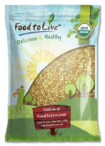 Organic Buckwheat Groats (Raw, Hulled, Non-GMO, Kosher, Bulk) by Food To Live — 20 Pounds