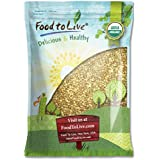 Food To Live Certified Organic Buckwheat Groats (Raw, Hulled, Non-GMO, Kosher, Bulk) (15 Pounds)